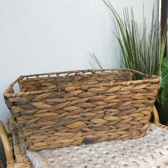 Pottery Barn Beachcomber Medium Rectangle Bin